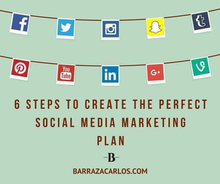 ✅ 6 Pasos para hacer un plan de social media marketing perfecto 2