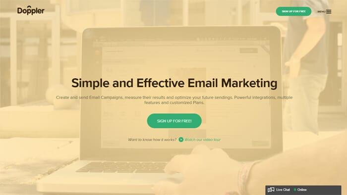Doppler email marketing