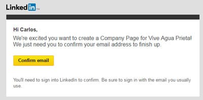 Linkedin Business Account Step 5