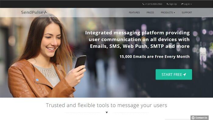 Sendpulse Email Marketing