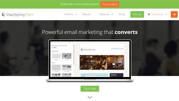 SharpSpringMail Email Marketing