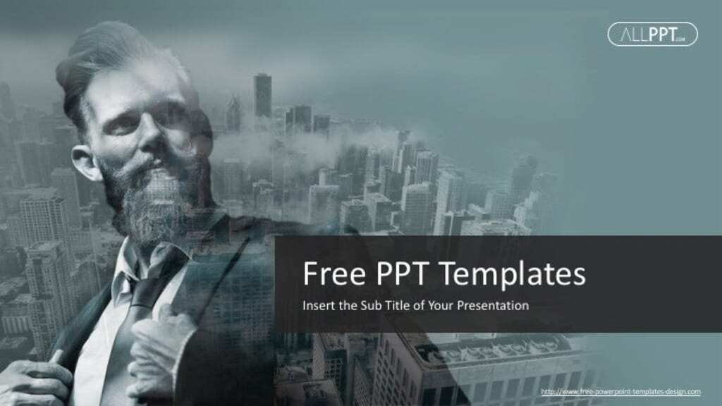 Free Business PPT Template01