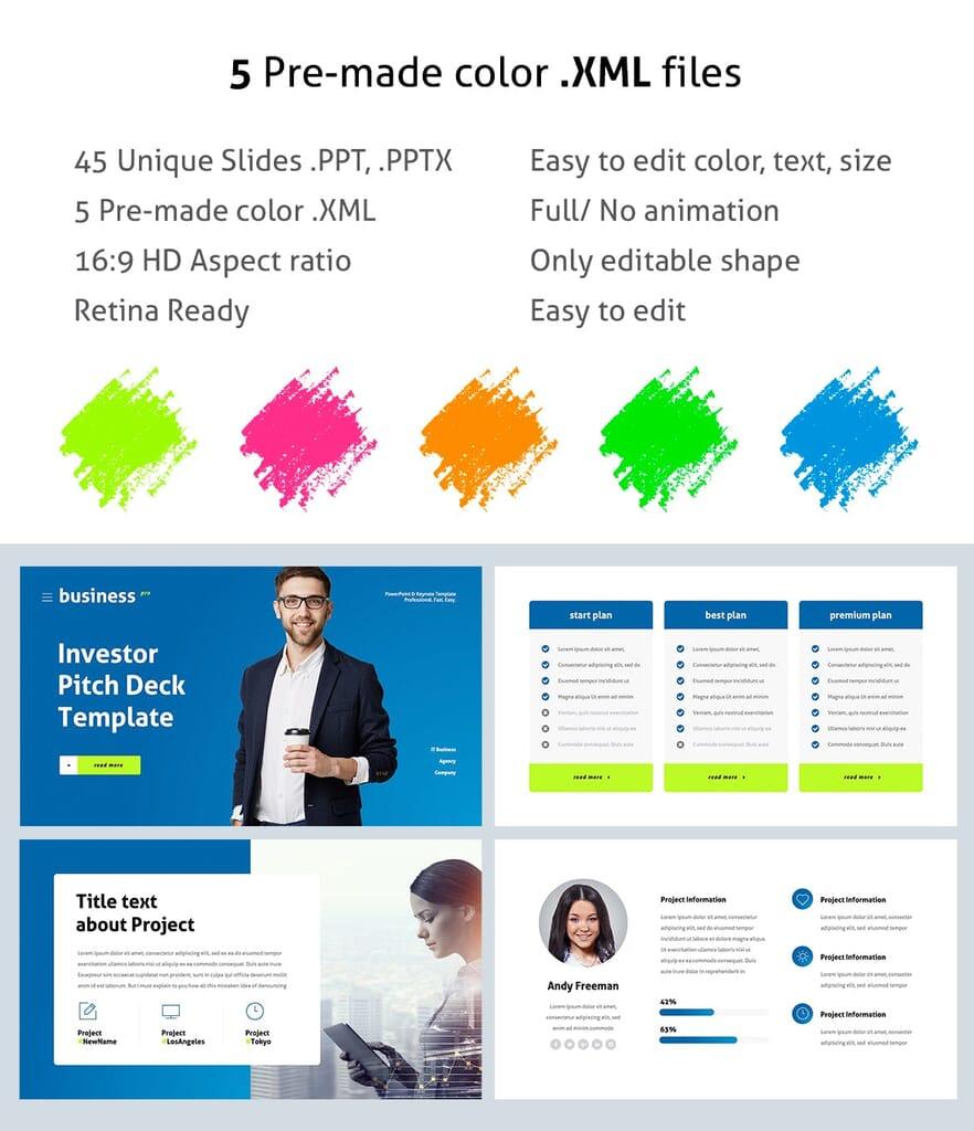 Investor pitch power point presentation 2