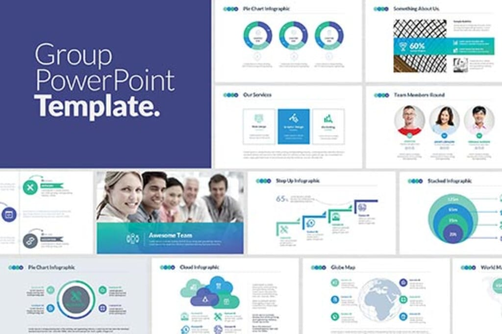 group-power-point-presentation-template