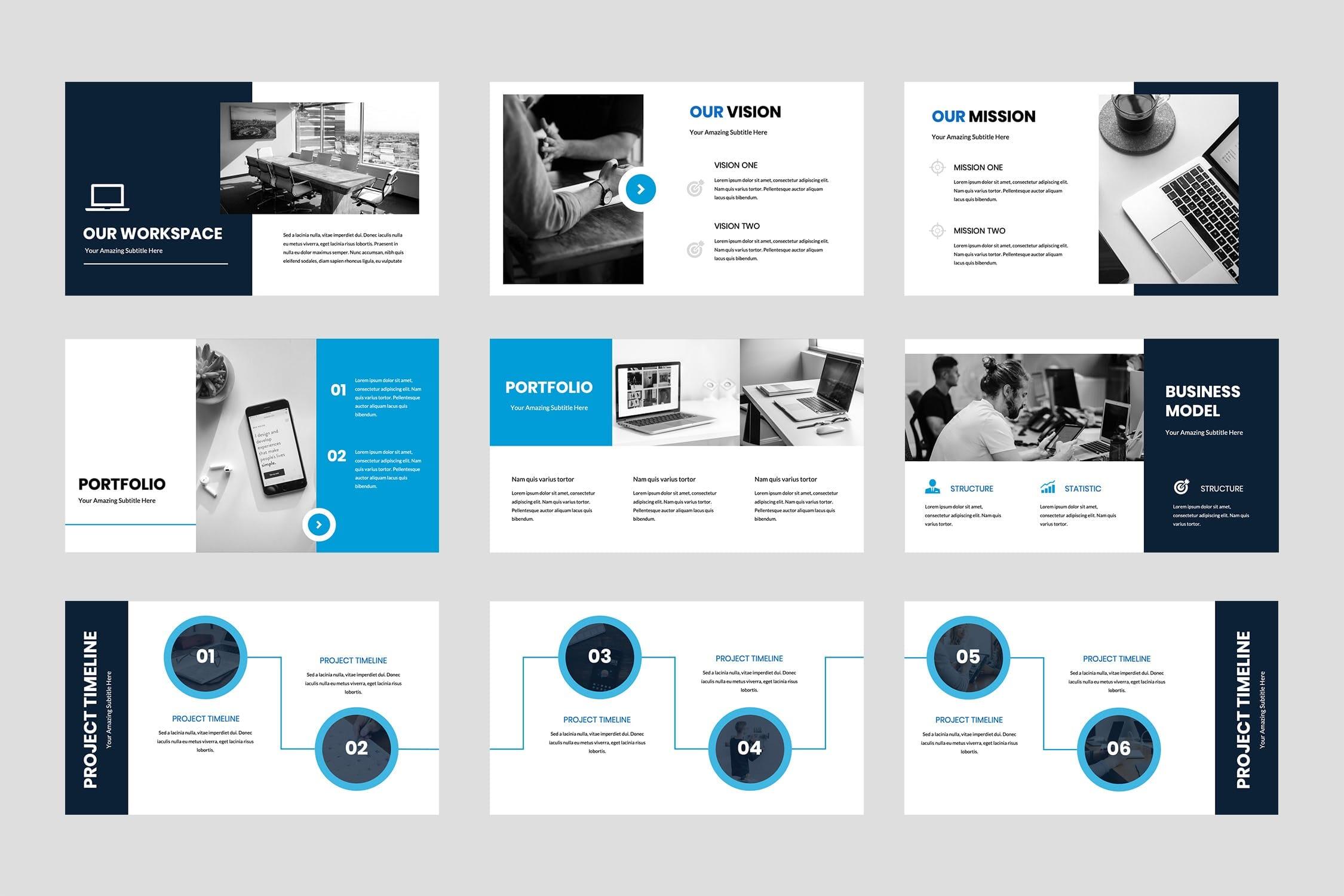 brokline business powerpoint presentation 3