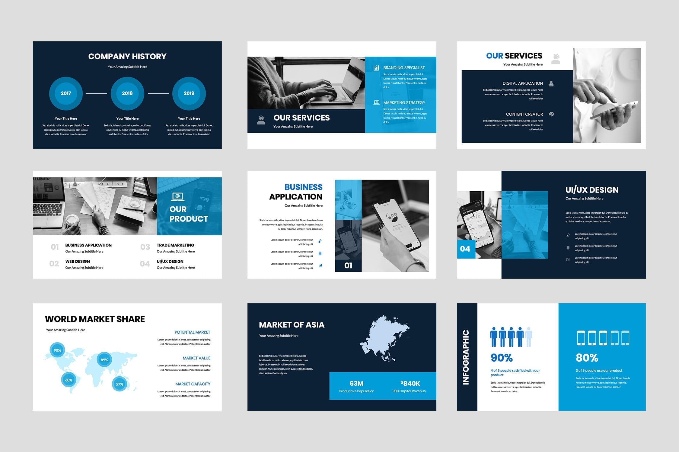 brokline business powerpoint presentation 4