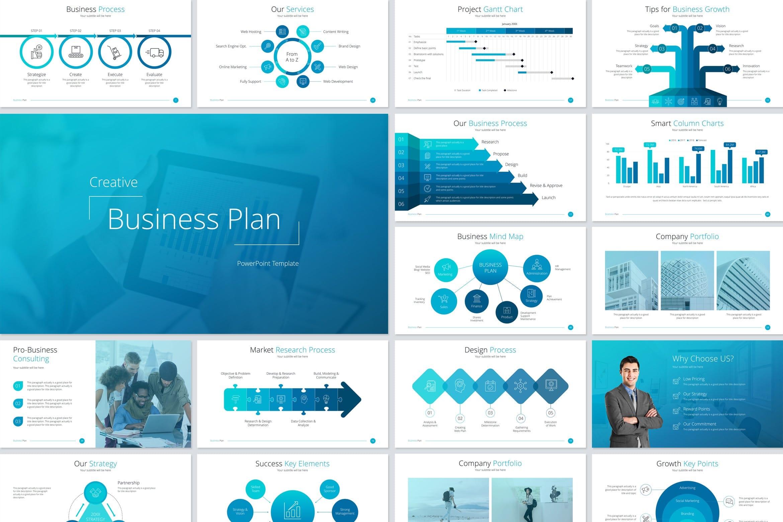 buisness plan ppt template
