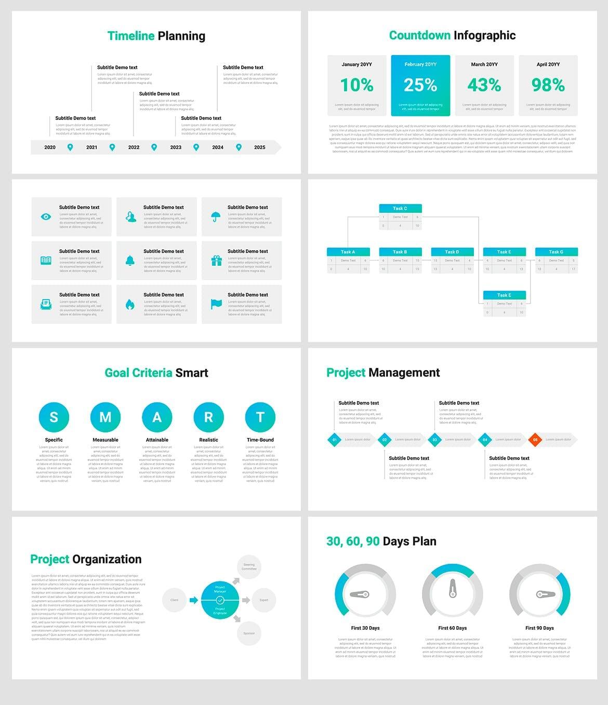 business plan 3 powerpoint template 2