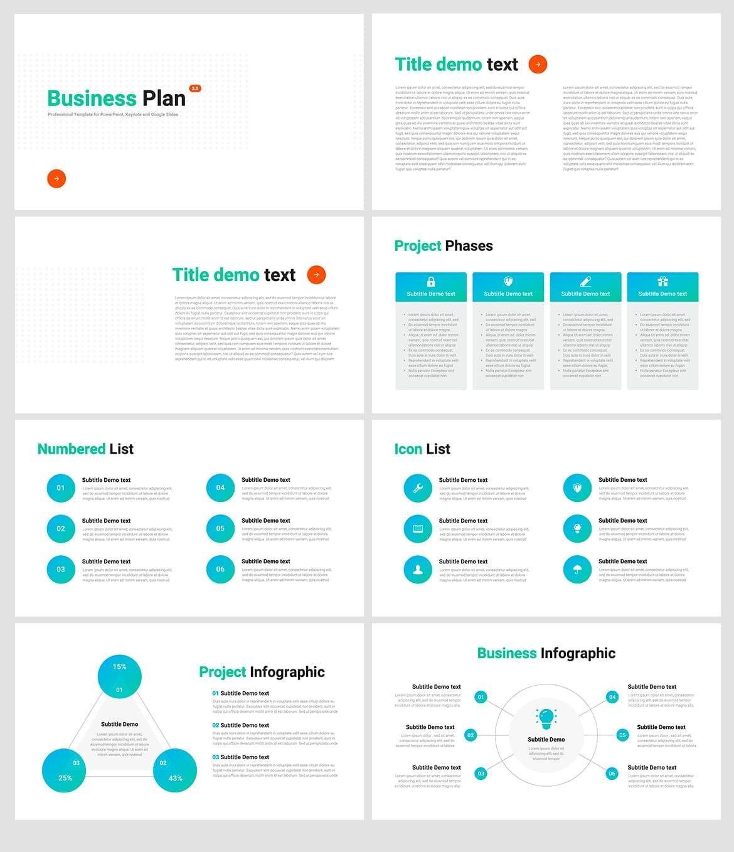 business plan 3 powerpoint template 4