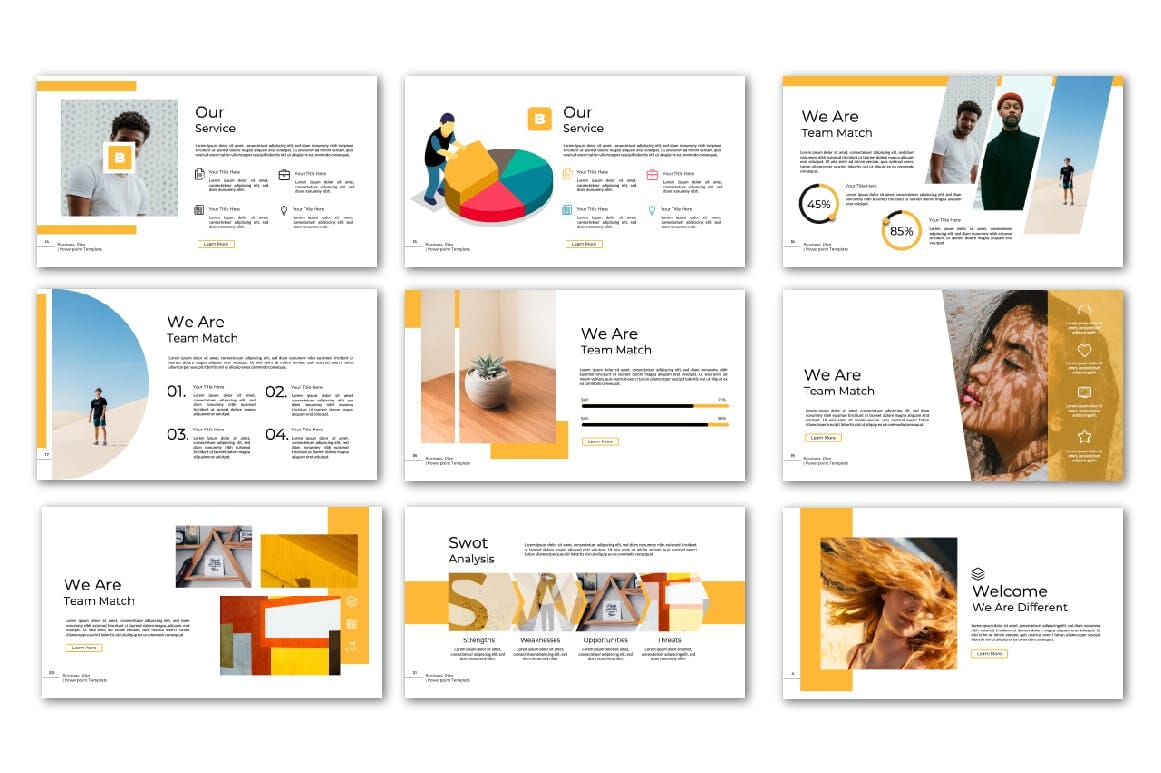 business plan powerpoint multipurpose template 2