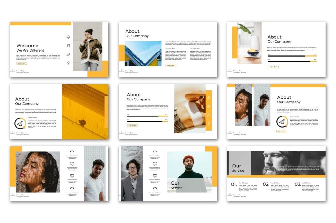 business plan powerpoint multipurpose template 3