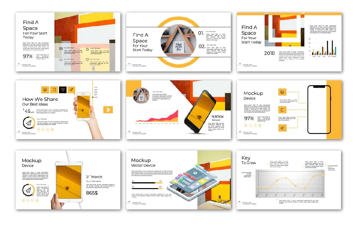 business plan powerpoint multipurpose template 6