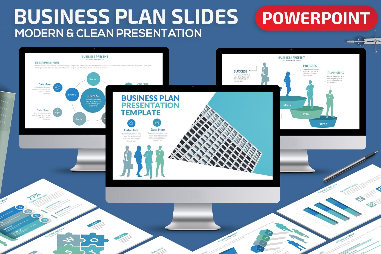 business plan powerpoint presentation template 1
