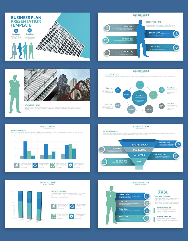 business plan powerpoint presentation template 5