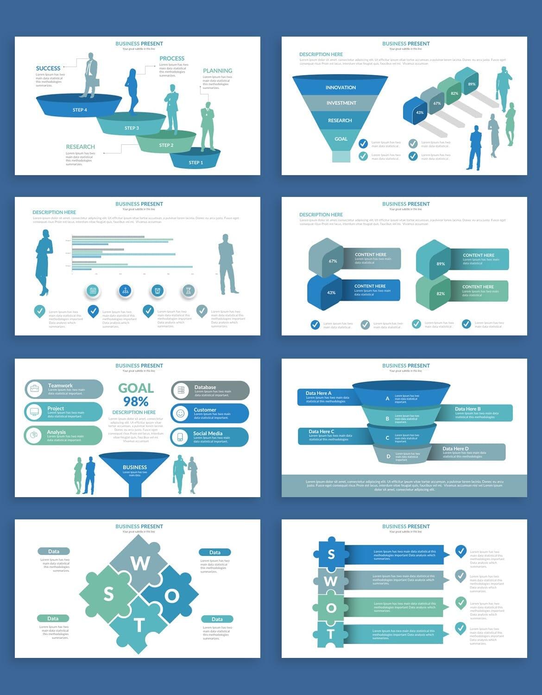 business plan powerpoint presentation template 6