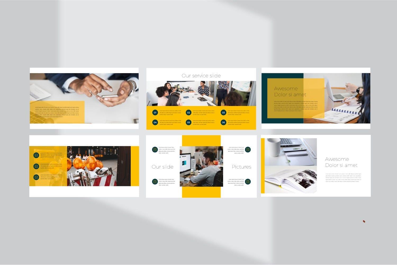 business plan powerpoint template 2