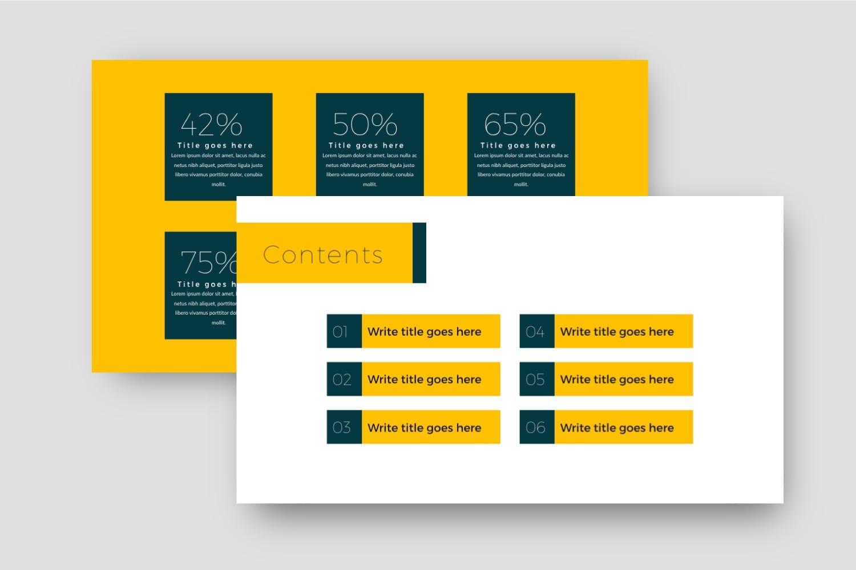 business plan powerpoint template 4