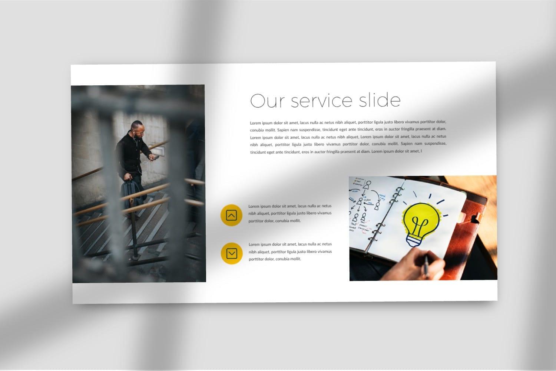 business plan powerpoint template 6