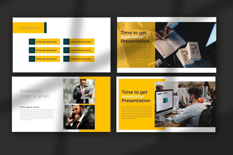 business plan powerpoint template 8