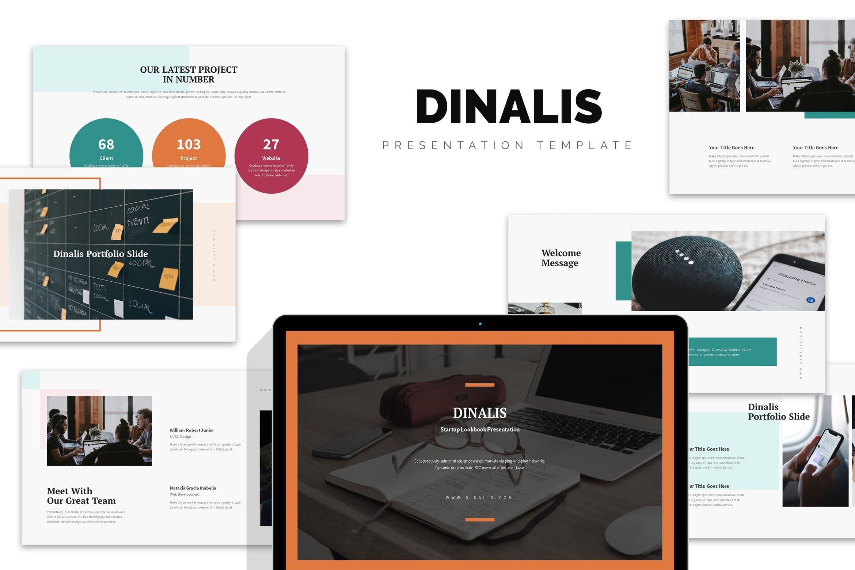 dinalis startup business plan powerpoint template