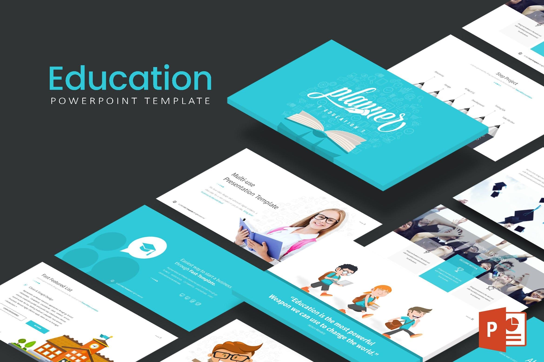education powerpoint presentation template 1