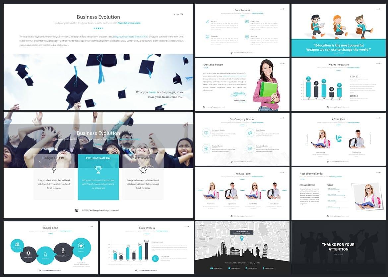 education powerpoint presentation template 3
