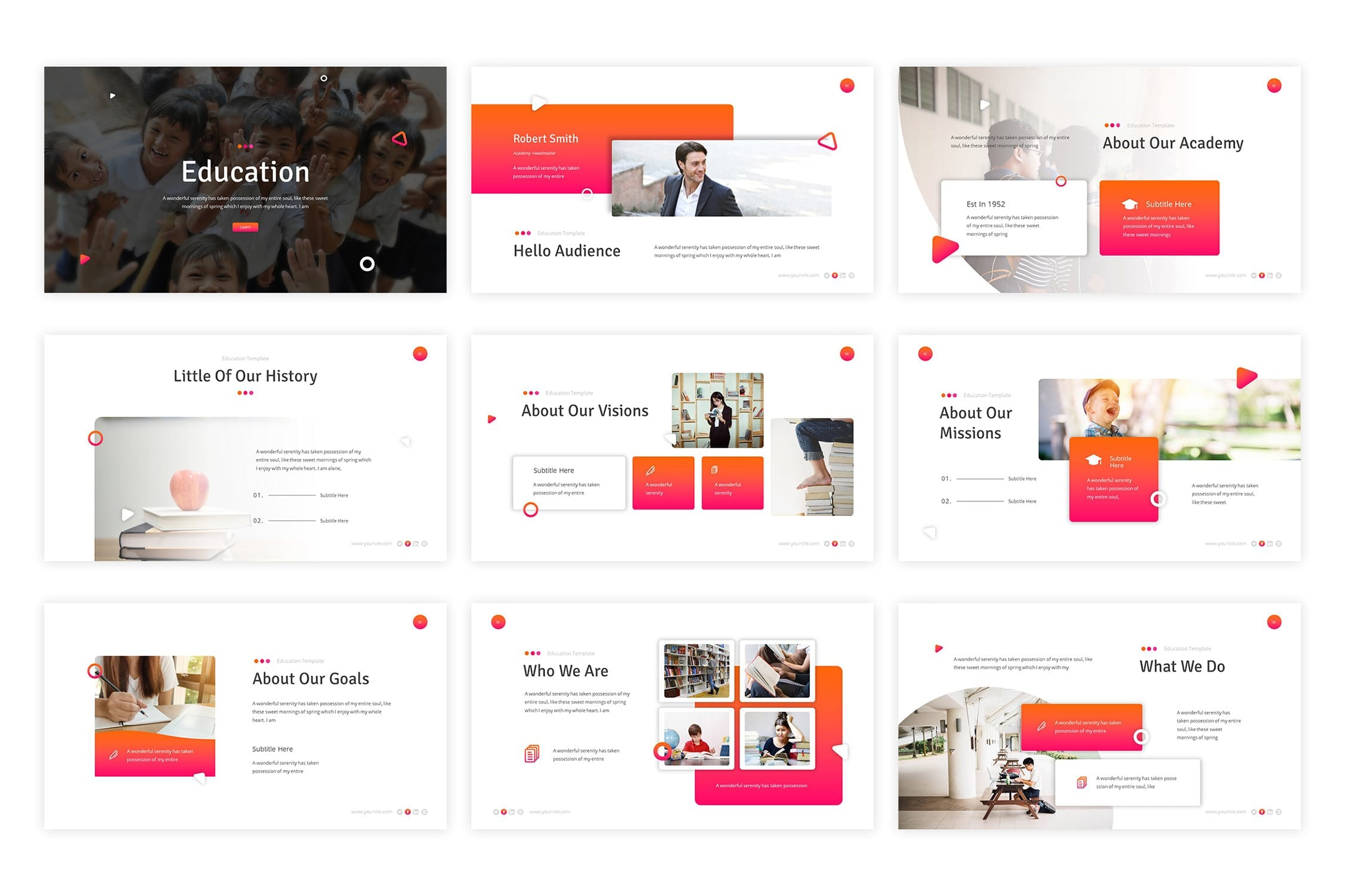education powerpoint template 2