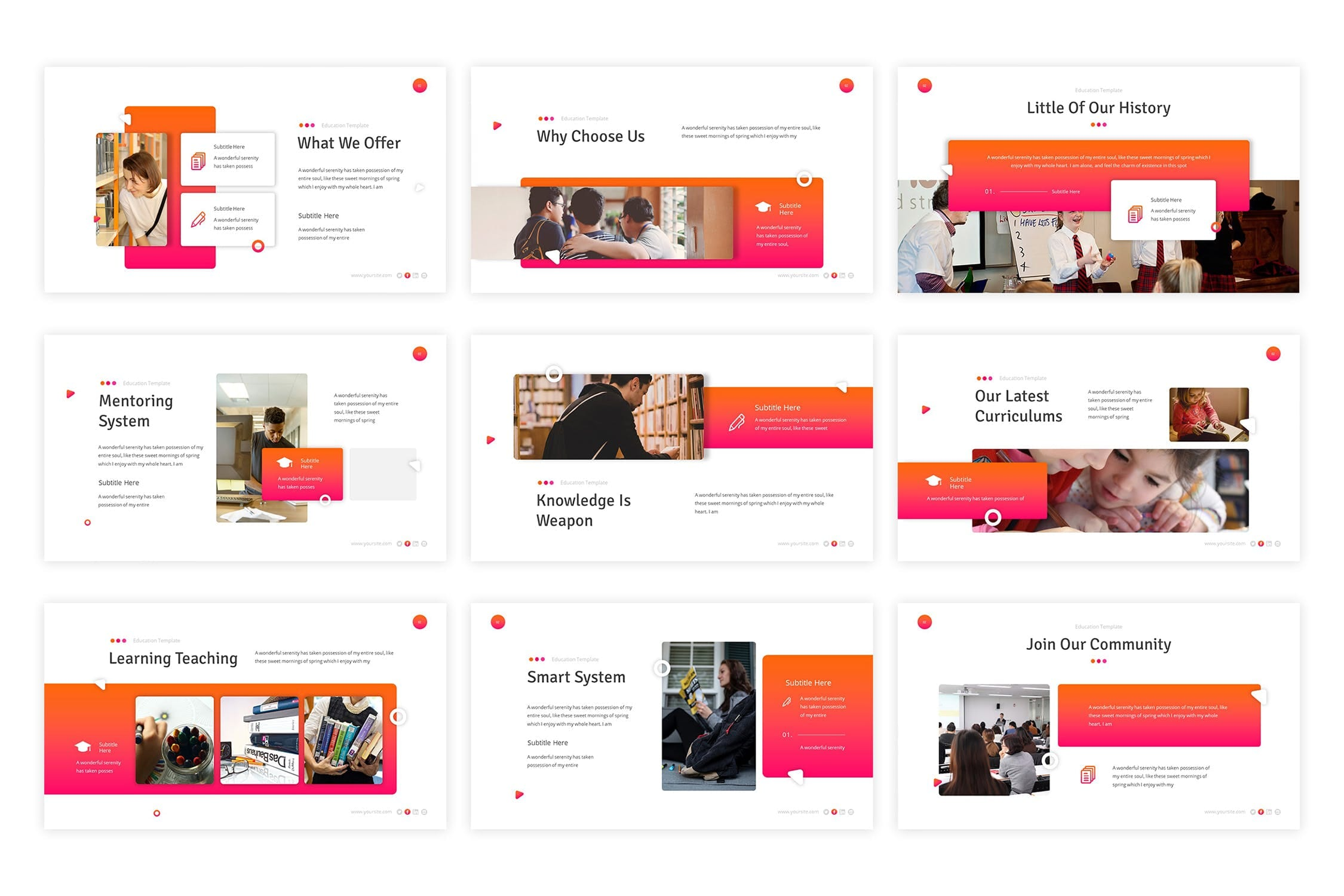 education powerpoint template 3