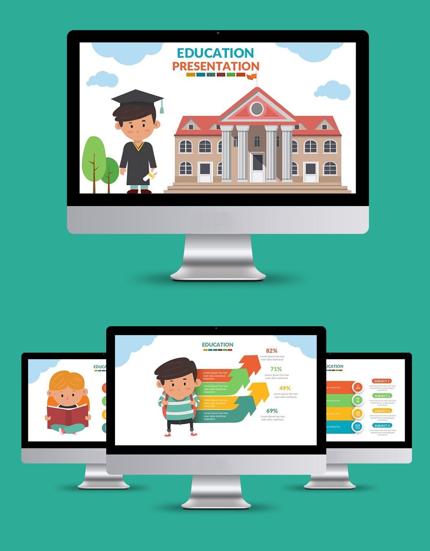 education presentation template 2