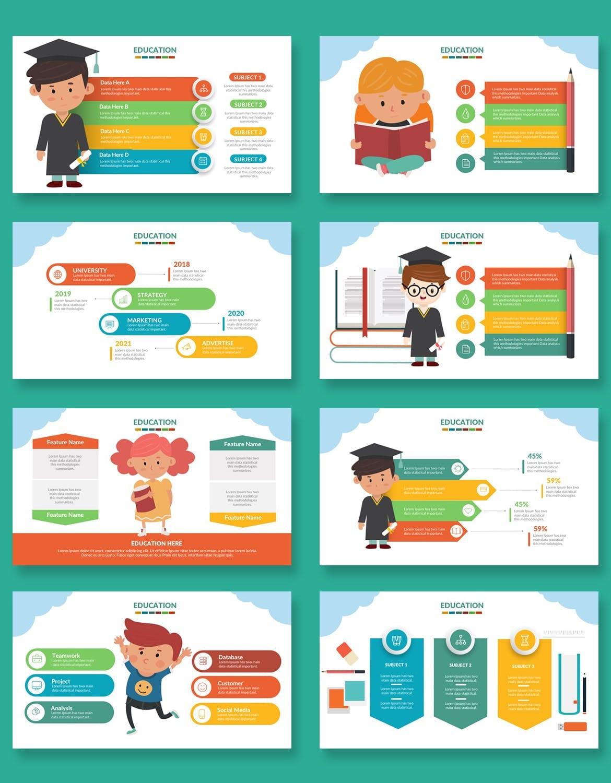 education presentation template 5