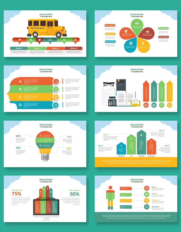 education presentation template 6