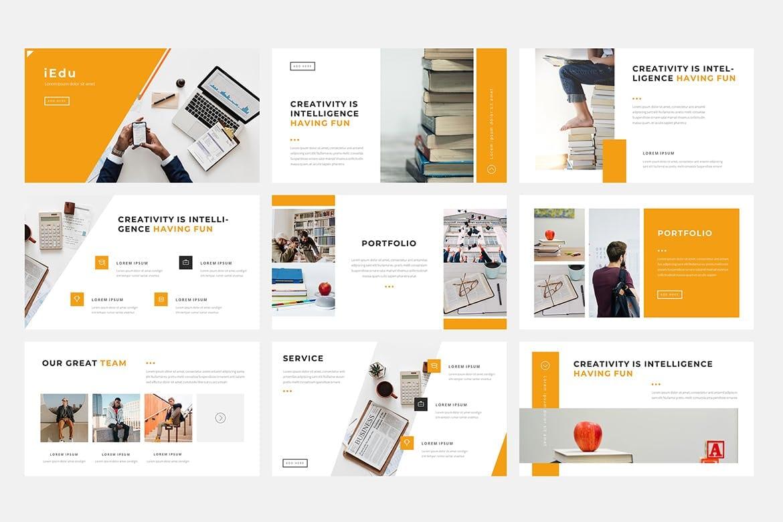 iedu education powerpoint template 2