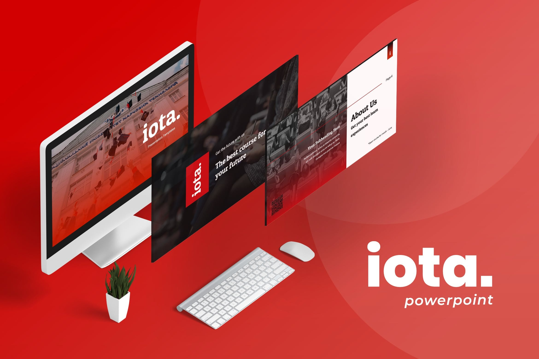 iota education powerpoint template