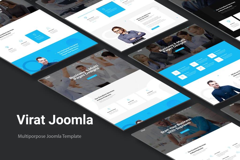 joomla template page builder