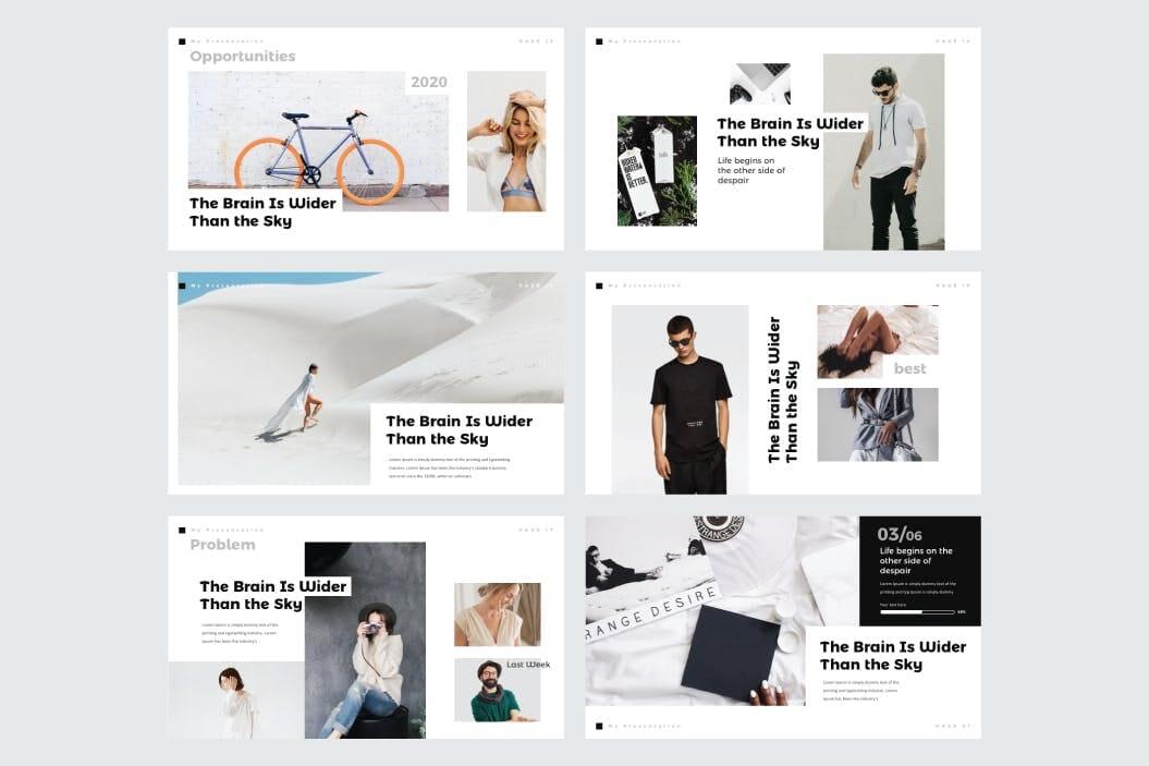 multipurpose business plan powerpoint template 4