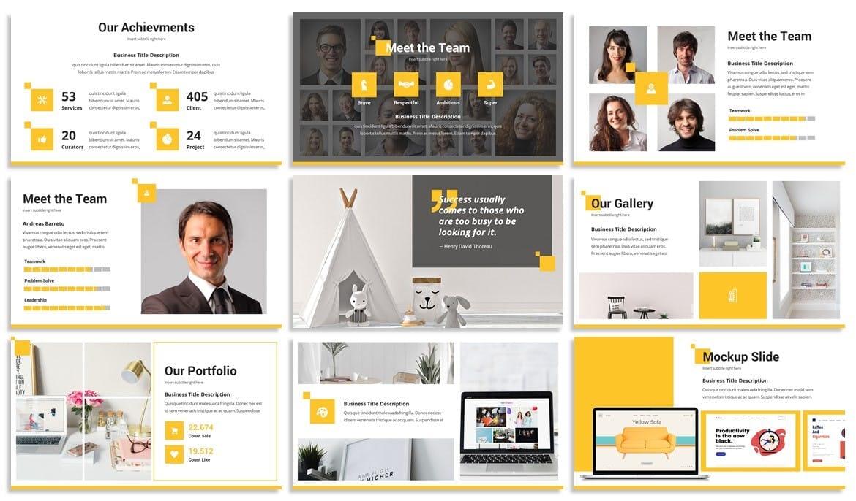 quadra business powerpoint template 3