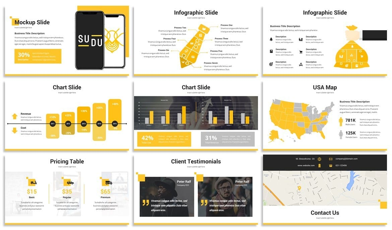 quadra business powerpoint template 4