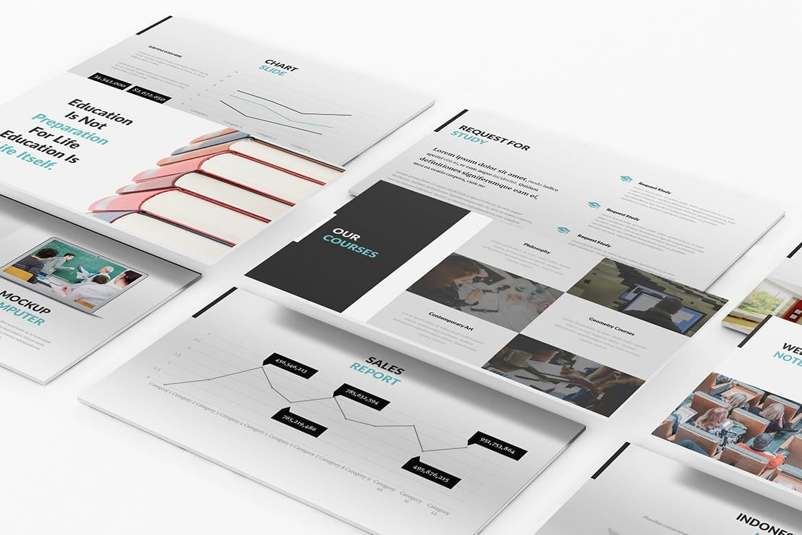university and education powerpoint template 10